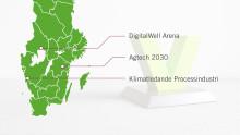 Satsning på ledande innovationsmiljöer i Värmland, Östergötland och Västra Götaland