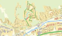 Del av Paradisvägen stängs av efter geoteknisk undersökning