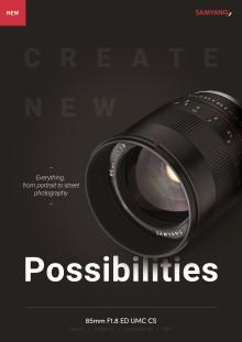 SAMYANG launcht manuelles Objektiv 85 mm F1.8 für spiegellose Kameras