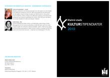 Malmö stads kulturstipendiater 2010