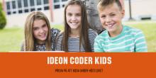Ideon Coder Kids - Prova på att koda under höstlovet