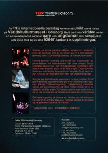TEDxYouth@Göteborg info