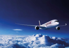 Qatar Airways adds A350 to their operation at Oslo Airport