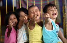 Kundene rundet opp for UNICEF