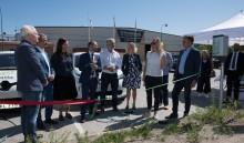 Regeringen inviger CaCharges 34 laddplatser i Upplands Väsby kommun