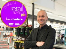 XL-BYGGPARTNERS Johan Rosendahl finalist i kategorin Årets Ledare i Retail Awards!