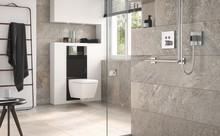 Estetisk WC-modul fulladdad med teknik