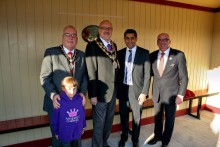 World famous locomotive opens new East Lancashire Railway station