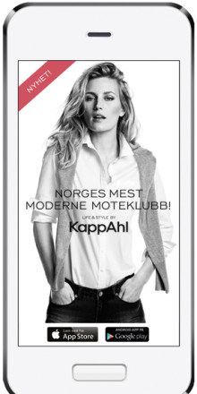 Bonus i unik app när KappAhl lanserar sin kundklubb i Norge