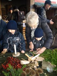 Julemarked i Lützhøfts Købmandsgård og Håndværksmuseum