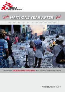 Stora behov kvarstår i Haiti trots massiva hjälpinsatser