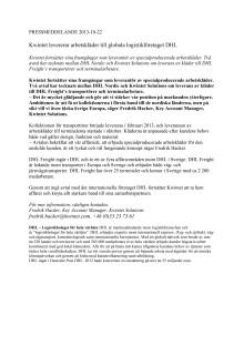 PDF_Kwintet levererar arbetskläder till globala logistikföretaget DHL