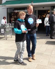 Husk at tale med misbrugerens barn - gadekampagne i Stevns