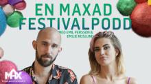 """""""En Maxad Festivalpodd"""" skapar stämningen inför Way Out West -  Acast och Max i samarbete med en varumärkespodd"""