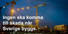 Lambertsson lanserar arbetmiljösatsningen Säker Sak