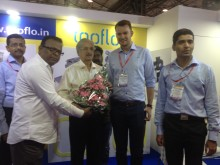 Tapflo India on Chemtech 2017 | official stand opening