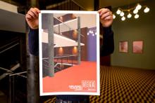 Grafisk hyldest til Folkets Hus: Eksklusive jubilæumsplakater til heldige koncertgæster
