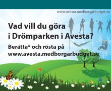 """Pressinbjudan: Medborgarbudget """"Drömparken"""""""