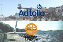 Nacka kommun köper kartsystem och Intern-GIS från Adtollo