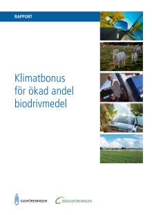 Klimatbonus - så kan Sverige få mer av riktigt rena drivmedel