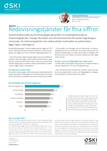 Svenskt Kvalitetsindex om redovisningstjänster 2019