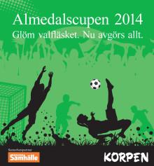 Dagens Samhälle och Korpen arrangerar Almedalscupen 2014 under Politikerveckan