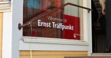 Välbesökt invigning av Ernst Träffpunkt