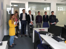 Mit dem Globe College Team zur Online-Stellenbörse