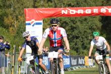Seier til Bøe Jacobsen og Siggerud i søndagens NorgesCup i sprint under Oslo Terrengsykkelfestival