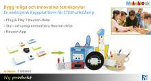 Gör obegränsade idéer till verklighet med Neuron Inventor Kit