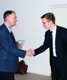 Erik Werlauff modtager Karnov Skattepris 2015