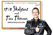 """SKOLSTART med TINA THÖRNER - Tävla i """"Kunskapsnavigering med Tina"""" i 8 veckor på School4you.org"""