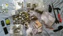 Four arrested on suspicion of drugs supply following warrant at property in Southport