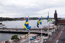 Sheraton flaggar svenskt under VM!