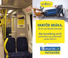 Maries Puts & Städs kampanj - färre skilsmässor med hemstädning!