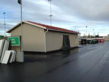 Nytt Återbrukshus på Gimonäs återvinningscentral