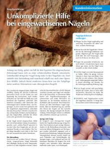 Nagelprobleme: Unkomplizierte Hilfe bei eingewachsenen Nägeln
