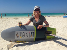 Ocean Signal: Ocean Signal Teams Up with Kite Racer Gina Hewson to Highlight Importance of Wearing a PLB