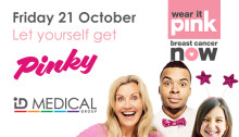 ID Medical gets pinky for Breast Cancer Now