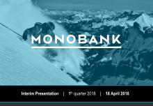 Monobank ASA Q1 2018 Presentation
