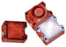 Världen första tillverkare av blixtljus, certifierade i enlighet med EN 54-23
