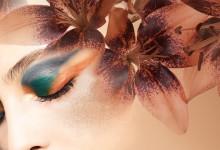 Höstens makeup i ett lyxigt kopparskimmer