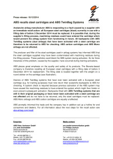 ABS Press Release