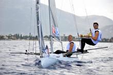 Nötbåten från Chalmers vann regatta i Italien