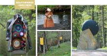 Nya verk till Skulpturparken i Ängelsberg även i år