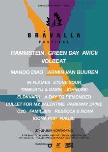 Nya namn till Bråvalla Festival 2013