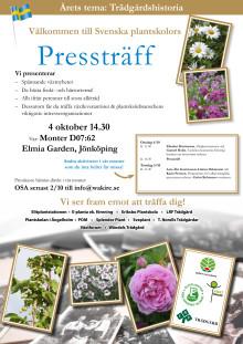 Inbjudan och program för Svenska Plantskolor