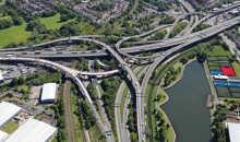 Highways England finish repair work on Spaghetti Junction ahead of schedule