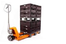 WALTHER entwickelt intelligente Kunststoffpalette