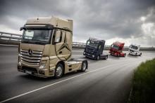 Mercedes-lastbiler leverer stærke resultater i 2017